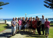 Leeuwin group on the beach