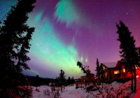 Canada-Northern-Lights-Landscape