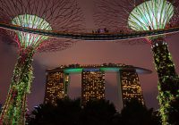 Marina Bay Big Tree Gardens By The Bay Singapore