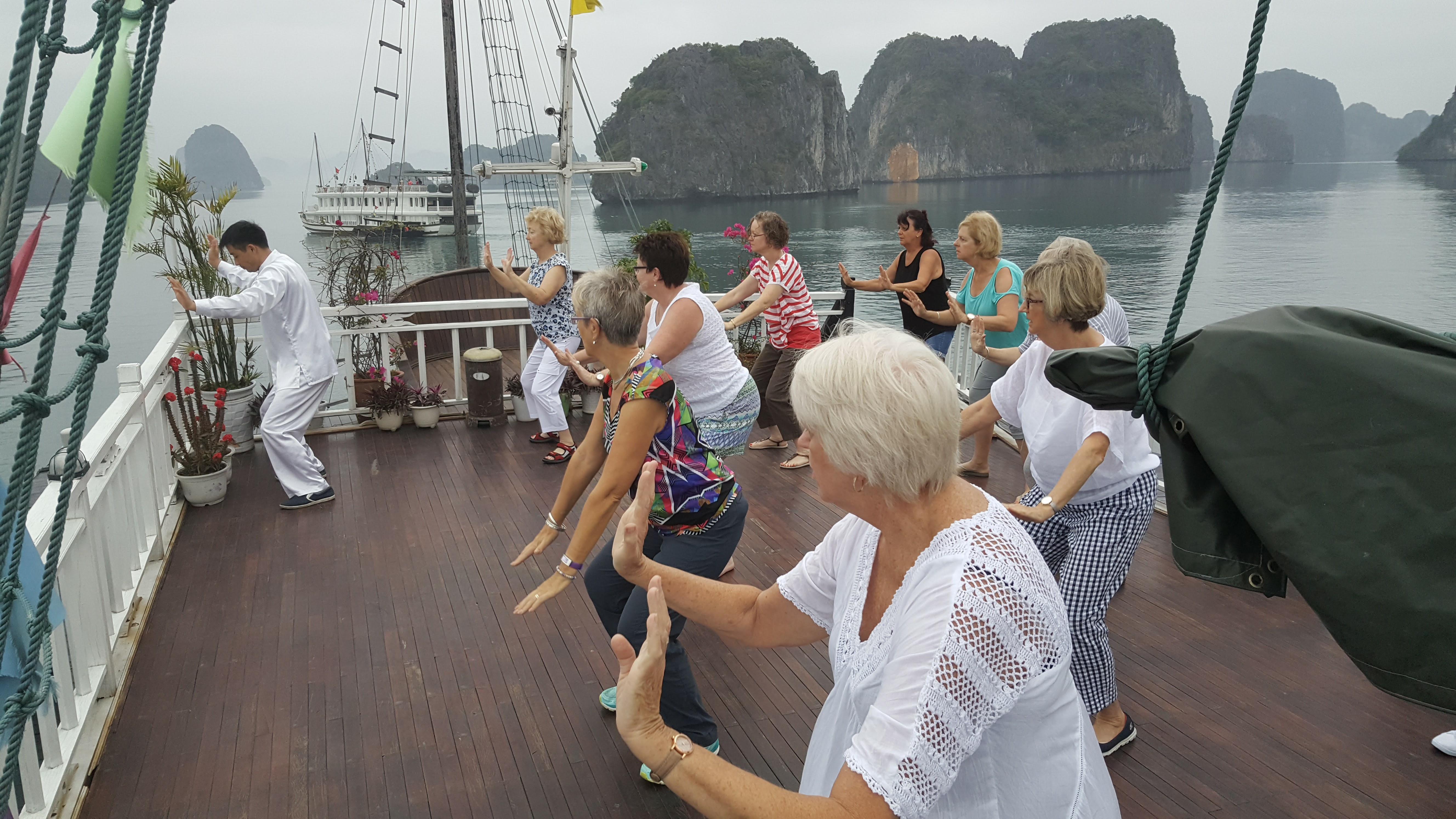 In Halong Bay, Vietnam with Travel with Me